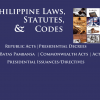 Philippine Laws, Statutes and Codes